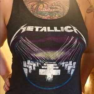 Metallica Grey Master Of Puppets Tank